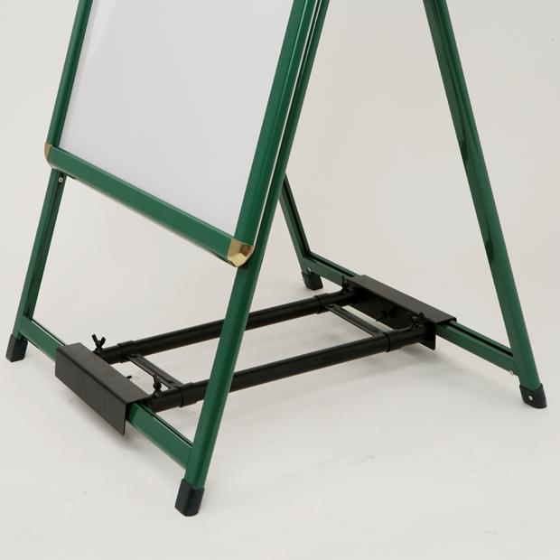 A型看板用タンクトレイ(1個置きタイプ)/オプション/屋外/転倒防止対策