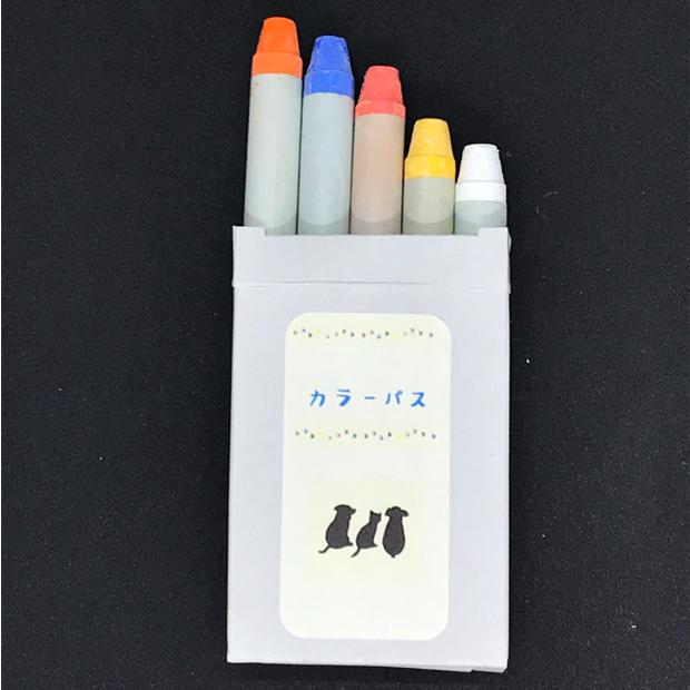 カラーパス (5色セット)/ブラックボード用クレヨン/オプション/消耗品