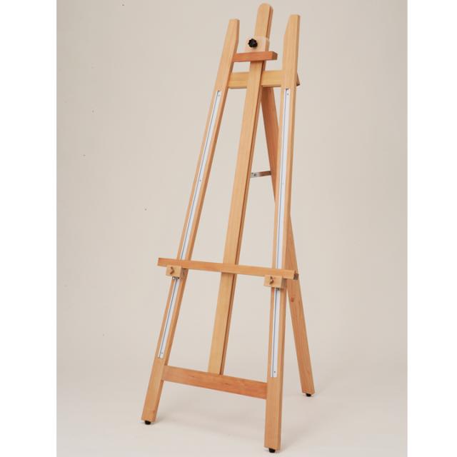 SEG-157A  木製イーゼル グラインA-M-7/スライド調整/折り畳み/スタンド/屋内【大型配送】