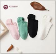 【匂わない】高級絹紡糸使用・婦人スニーカーソックス【ムレを防ぎ快適な履き心地】30%OFF