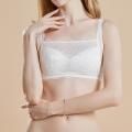 【36%OFF】【シルクレースブラ】胸元レースで華やか・見せブラとしても使えるおしゃれ&快適ブラ