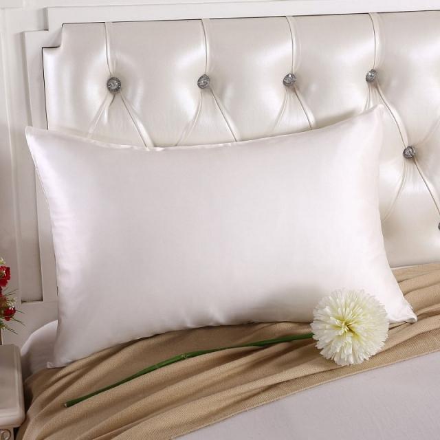 ホワイト 白色の枕カバー