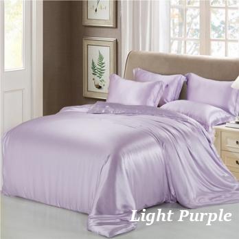 ライトパープル 薄紫色の掛布団カバー