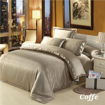 コーヒー色の掛布団カバー