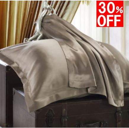 【フリル付き】枕カバー|19匁|シルク100%