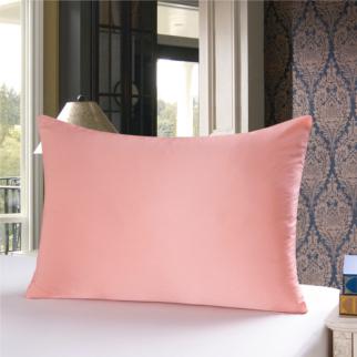 シャンパン色のシルク枕カバー