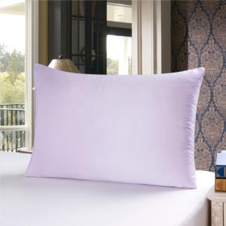 ライトパープル 薄紫色のシルク枕カバー