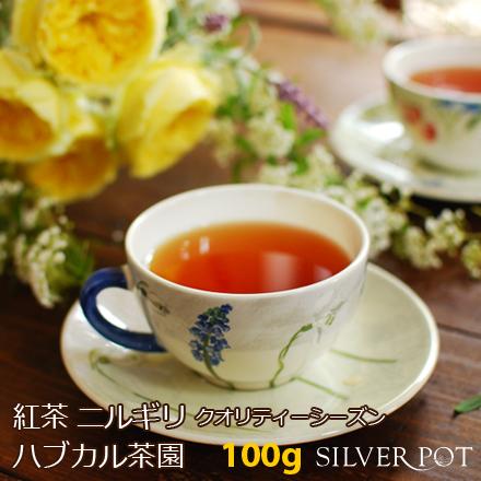 紅茶 お徳用パック ニルギリ クオリティーシーズン 2019年 ハブカル茶園 GFOP-SUP 100g 送料無料
