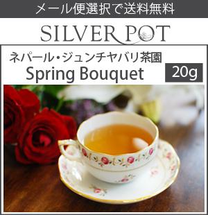 【送料無料】[紅茶]ネパール・ファーストフラッシュ2017年ジュンチヤバリ茶園Spring Bouquet(20g)