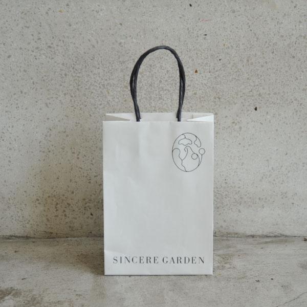 SINCERE GARDEN(シンシア・ガーデン) オリジナル紙バッグ(S)