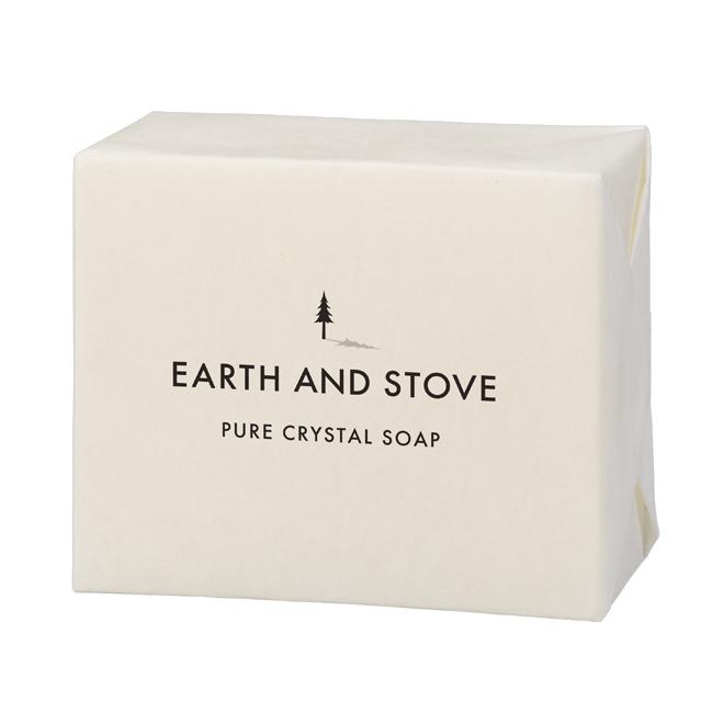 EARTH&STOVE(アース&ストーブ)ピュア クリスタルソープ 110g