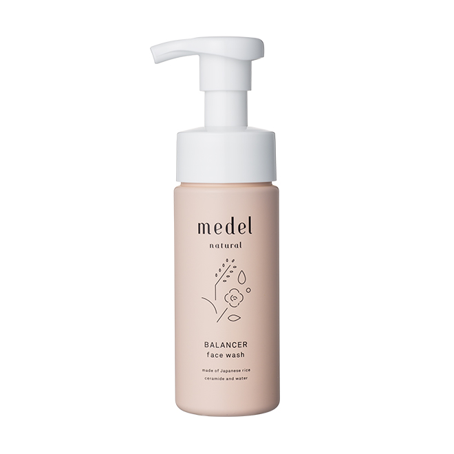 medel natural(メデル ナチュラル) バランサー フェイスウォッシュ 150mL