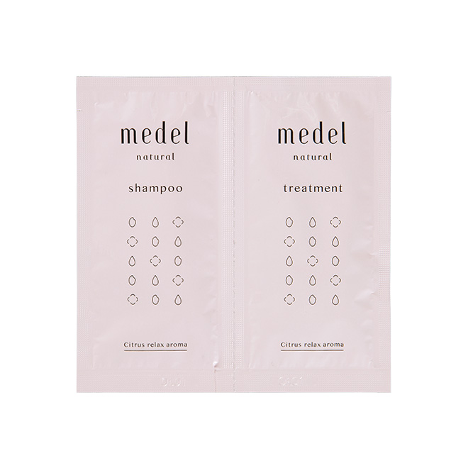 medel natural(メデル ナチュラル) ヘアケアトライアル シトラスリラックスアロマ