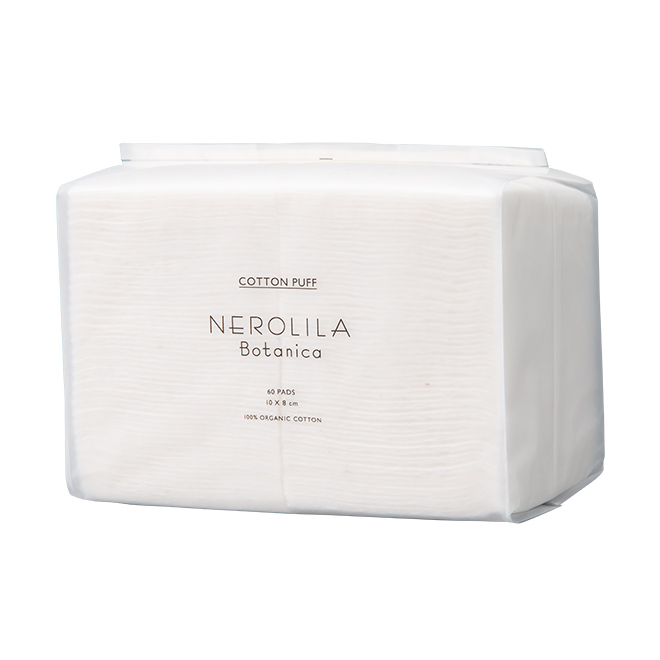 NEROLILA Botanica(ネロリラ ボタニカ) オーガニック コットンパフ