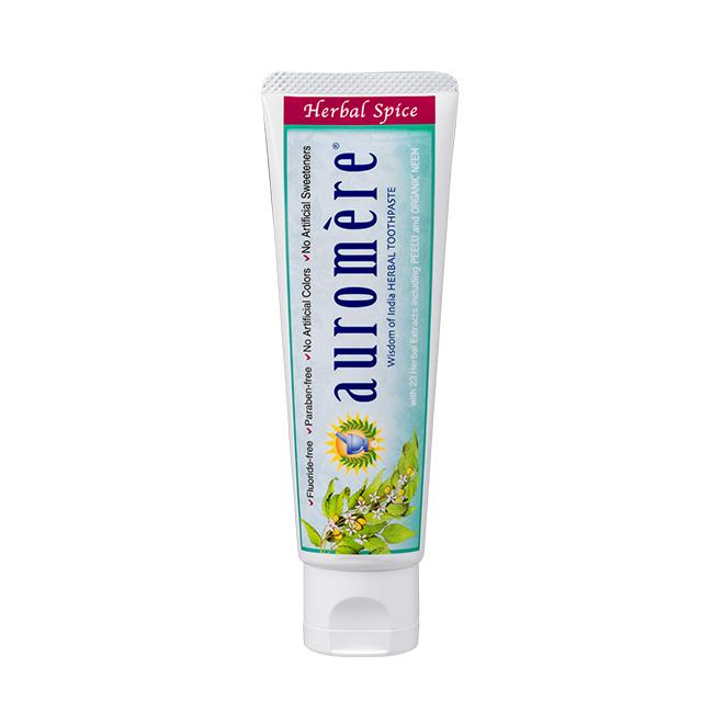 auromere(オーロメア) 歯磨き粉 ハーバルスパイス 70g