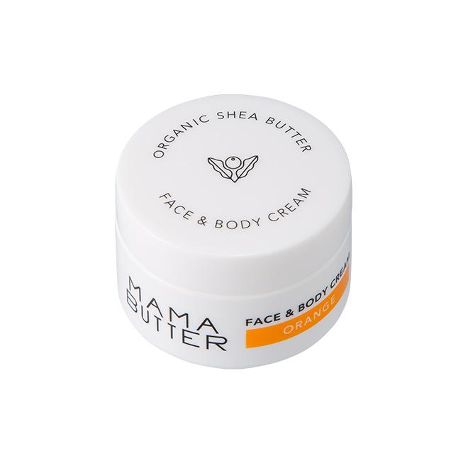 MAMA BUTTER(ママバター) フェイス&ボディクリーム オレンジ 25g