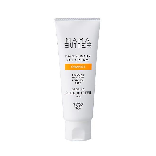 MAMA BUTTER(ママバター) フェイス&ボディオイルクリーム オレンジ 60g