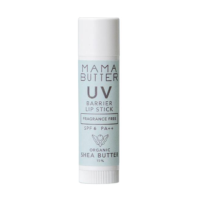 MAMA BUTTER(ママバター) UVバリア リップスティック SPF6 PA++ 4g