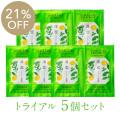 [薬用]rinRen(凛恋 リンレン) シャンプー&トリートメント ミント&レモン トライアル5個セット