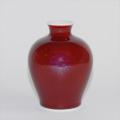 辰砂ミニ花瓶