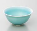 砧青磁飯碗-小-(真右ェ門窯)桐箱付