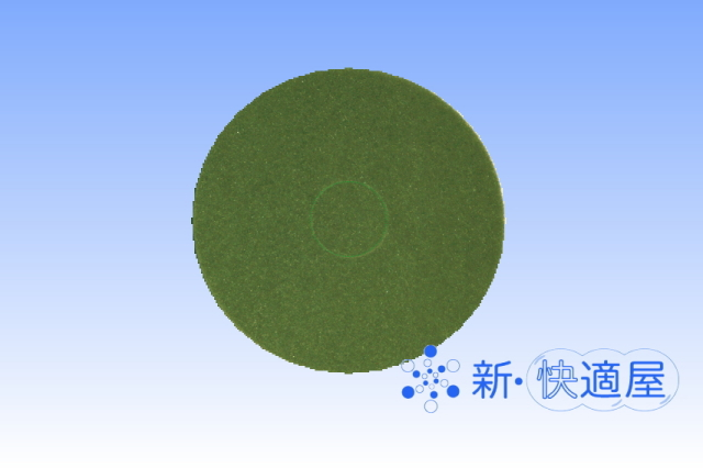 住友3M 『ポリッシャー用 緑パッド』 (スクラビングパッド) [15インチ]