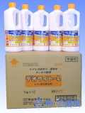 デオライトL(強力トイレ洗剤・尿石除去剤)【箱売り】 [1kg (約1リットル)×12本]【送料無料】