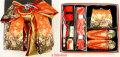 ◆高級段織り◆7歳女の子用 同柄・同色の結び帯・箱せこペアセット3020