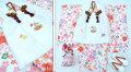 七五三 新作【夢】 国内産 3歳女の子着物(被布コート)セット◆白色系 桜◆910