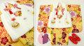 七五三 新作 3歳女の子着物(被布コート)セット◆黄色系 大花◆sd5893