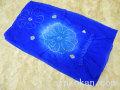 新品 浴衣用帯 絞り入り 子供兵児帯●青色系●