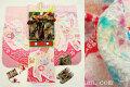 七五三 正絹 7歳用 女の子 特選着物 フルセット◆総絞り ピンク系 鞠に熨斗◆【ダリア】1049※レンタルも可