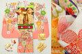 七五三 正絹7歳用女の子高級着物フルセット◆白色系 古典桜に鞠◆sdyuri1056※レンタルも可