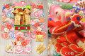 七五三 7歳用女の子高級着物フルセット◆ピンク系 金駒刺繍 花車◆h1063※レンタルも可