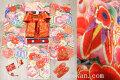 七五三 7歳用女の子高級着物フルセット◆ベージュクリーム系 金駒刺繍 花車◆h1064※レンタルも可