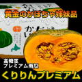 もうじき終了 高糖度かぼちゃ くりりんプレミアム 1玉 (カード・代引不可)