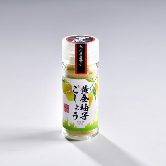 黄金柚子ごしょう 15g(オウゴン唐辛子)
