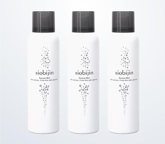 塩美人炭酸化粧水 3本セット 【定期購入】