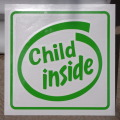 SD-1036 オリジナルステッカー Child inside