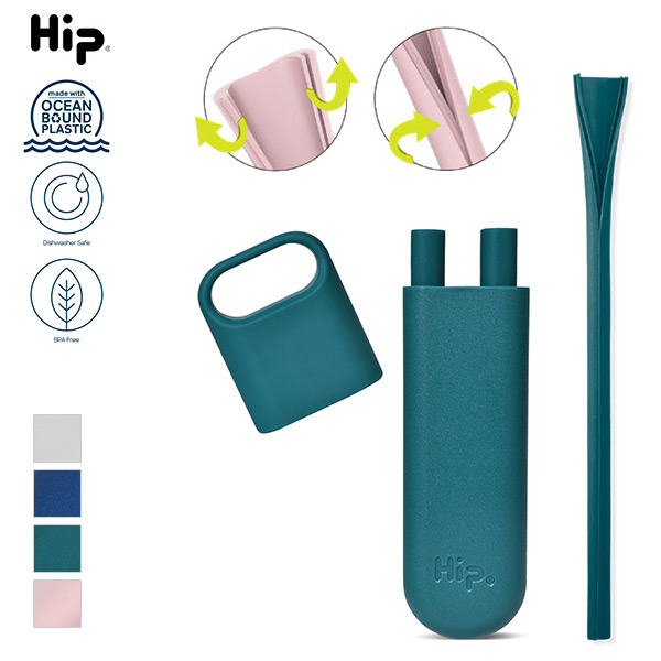 Hip OBP Single Straw Case & Squeaky Clean Straw / ヒップ ストローケース&ストロー