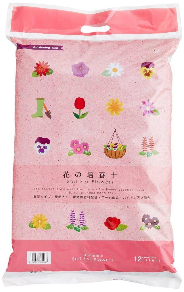 取っ手付 花の培養土12L