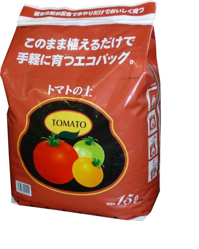 エコバッグ トマトの土 15L