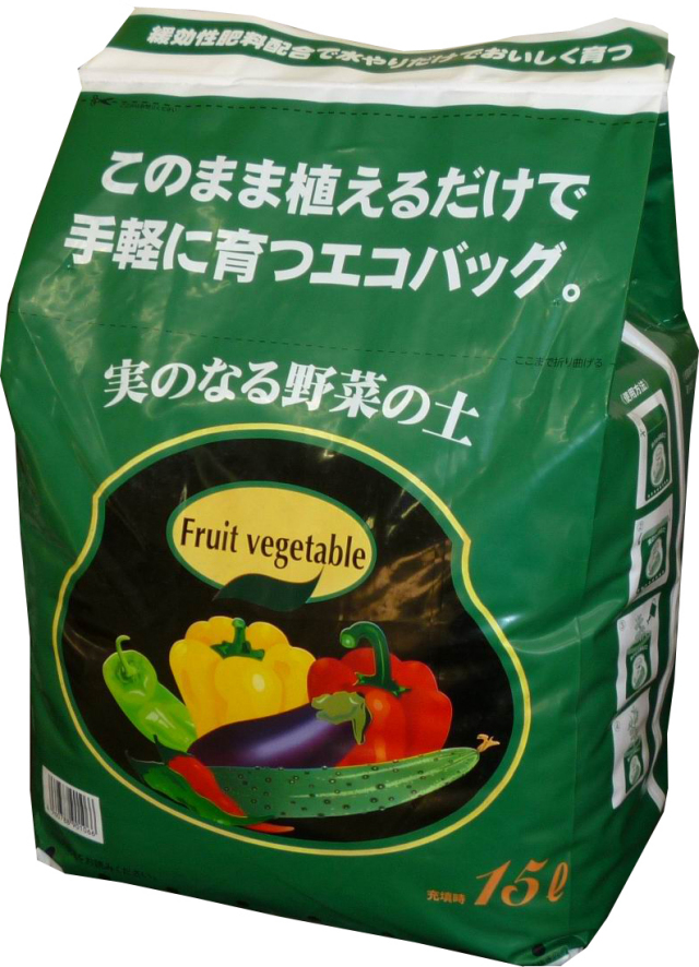 エコバッグ 実のなる野菜 15L