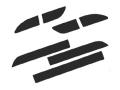 【Back Scratcher】CODE-10HVリアハーフスポイラー専用ダミーダクト用メイキングフィルム