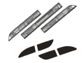 【Back Scratcher】CODE-10HVリアハーフスポイラー専用ダミーダクト用メカニカルアクセントプレート