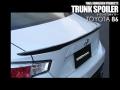 【FINAL KONNEXION】トヨタ 86 『トランクスポイラー』 ※カーボン製品 カーボン色選択可