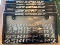 【SKIPPER】 ナンバーフレーム