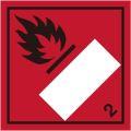 等級2.1 引火性高圧ガス 標識(コンテナ・国連番号表示用)