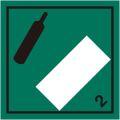 等級2.2 非引火性非毒性高圧ガス 標識(コンテナ・国連番号表示用)