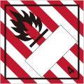 等級4.1 可燃性物質 標識(コンテナ・国連番号表示用)